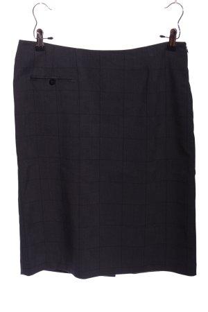 InWear Jupe crayon noir motif à carreaux style d'affaires