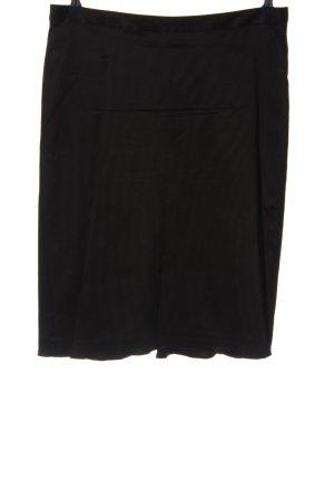 InWear Ołówkowa spódnica czarny W stylu biznesowym