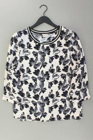 Inwear Bluse creme Blumenmuster Größe 40