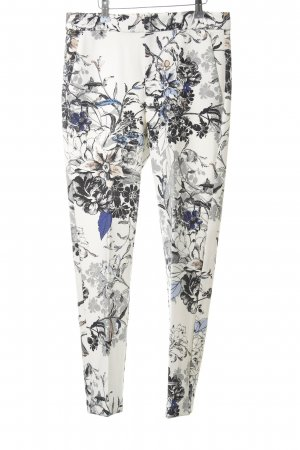 InWear Bundfaltenhose florales Muster Business-Look