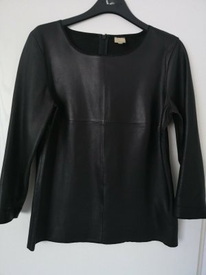 InWear Leather Blouse black leather