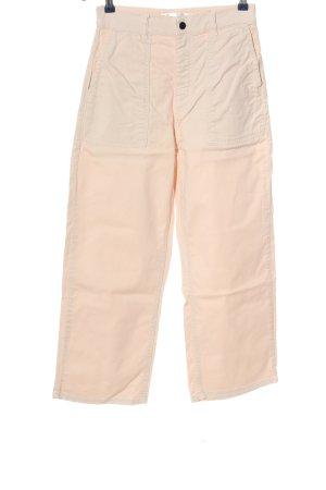 InWear Pantalon taille haute rose style décontracté
