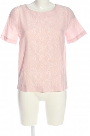 InWear Blouse à manches courtes rose style décontracté