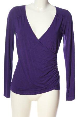 InWear Langarm-Bluse lila Casual-Look