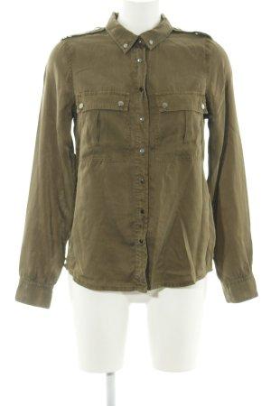 InWear Langarm-Bluse khaki-grün Casual-Look