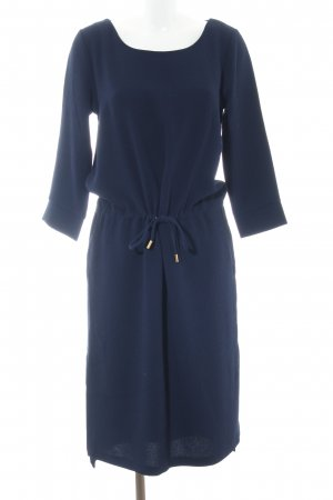 InWear Langarmkleid blau Business-Look