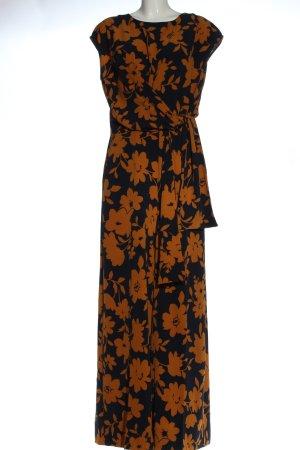 InWear Langer Jumpsuit azul-naranja claro elegante