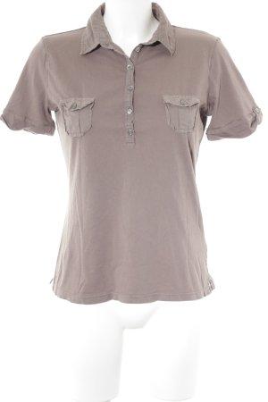 InWear Polo-Shirt graubraun Casual-Look