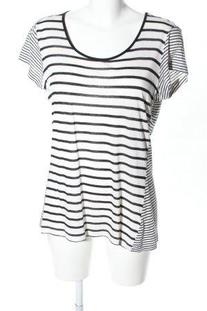 InWear Ringelshirt schwarz-weiß Streifenmuster Casual-Look