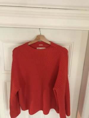 InWear roter Pullover  // Farbe: Fiere red