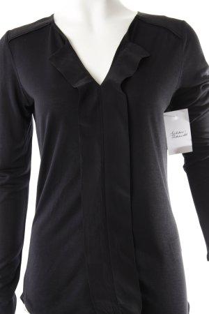 InWear Schlupf-Bluse schwarz Casual-Look