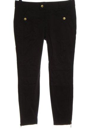 InWear Pantalón tipo suéter negro look casual