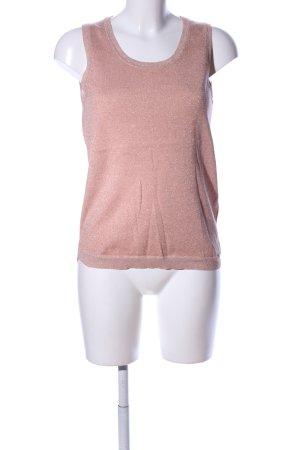 InWear Gebreide top roze-goud zakelijke stijl