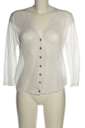 InWear Blusa trasparente bianco stile casual
