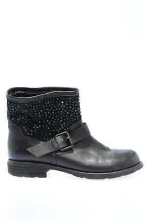 Ioannis Krótkie buty czarny W stylu casual
