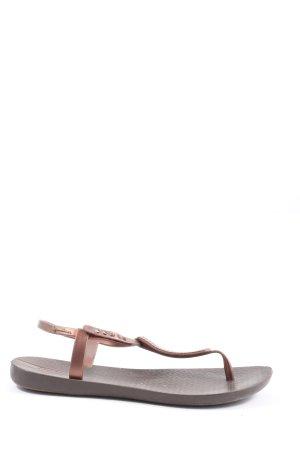 Ipanema Dianette-Sandalen braun Motivdruck Casual-Look