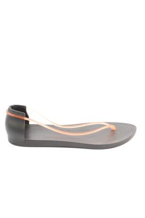 Ipanema Dianette-Sandalen schwarz-wollweiß Casual-Look