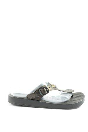 Ipanema Flip flop sandalen zwart casual uitstraling