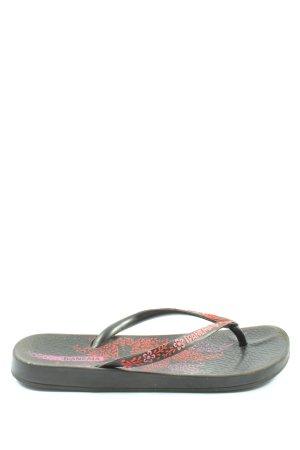 Ipanema Flip Flop Sandalen schwarz-pink Casual-Look