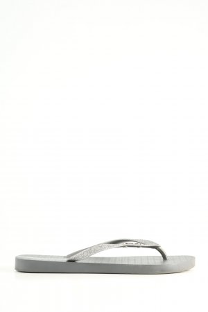 Ipanema Flip-Flop Sandals silver-colored casual look