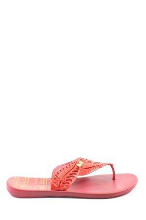 Ipanema Flip Flop Sandalen rot Casual-Look