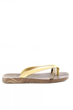 Ipanema Flip Flop Sandalen braun-creme Casual-Look