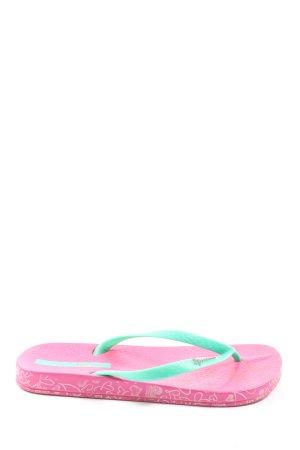 Ipanema Flip Flop Sandalen pink-türkis Casual-Look