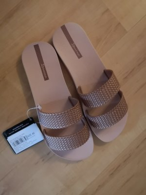 Ipanema Beach Sandals rose-gold-coloured
