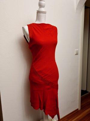 Ipekyol elegantes schönes asymmetrisches Kleid in rot Gr.36