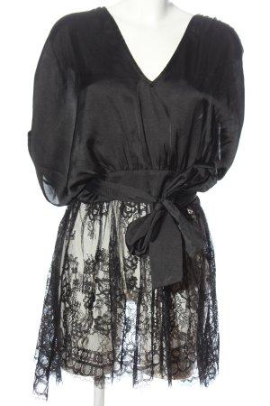Ipekyol Camicetta lunga nero modello web stile casual