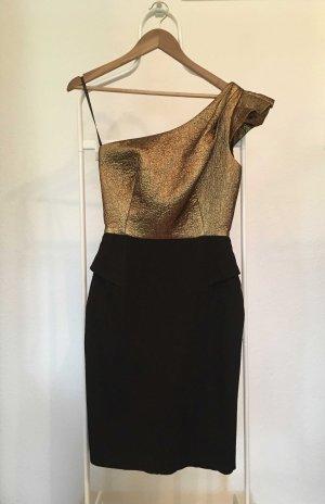 IPEKYOL One-Shoulder-Kleid schwarz-gold Elegant