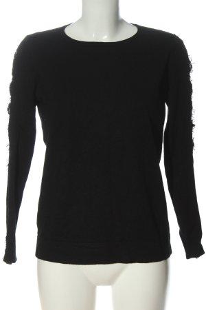 Ipekyol Maglione lavorato a maglia nero stile casual