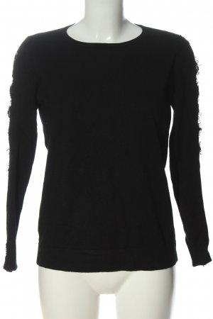 Ipekyol Knitted Sweater black casual look