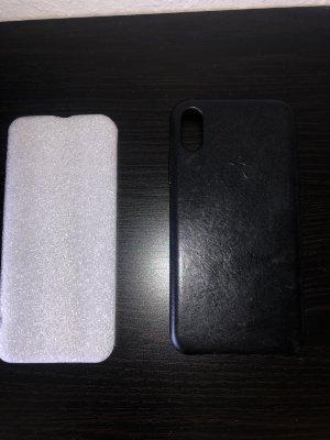 Apple Pendentif noir cuir