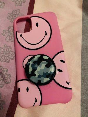 Étui pour téléphone portable rose-rose clair