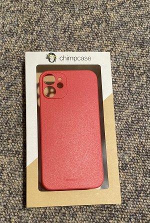 Carcasa para teléfono móvil rojo oscuro