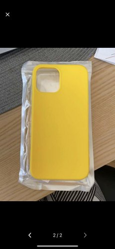 Étui pour téléphone portable jaune