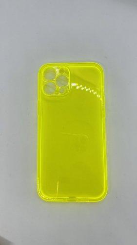 Custodia per cellulare giallo neon