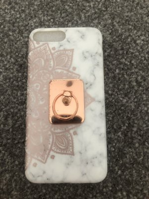 Iphone 6/6s/7/8 Plus Hülle Schutzhülle Schutz Cover Case Motiv Lotus Wie NEU