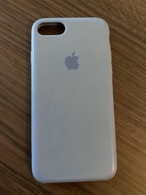 iPhone 7 Hülle - Silikon Case hellblau
