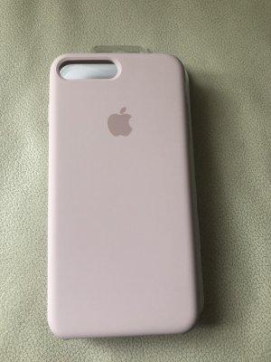 iPhone 7 Plus & 8 Plus Silikon Hülle - Altrosa