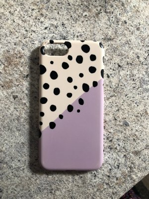 Mobile Phone Case lilac-white