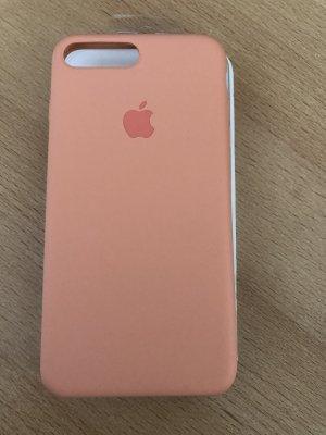 iPhone 8 Plus Silikone Hülle - Peach