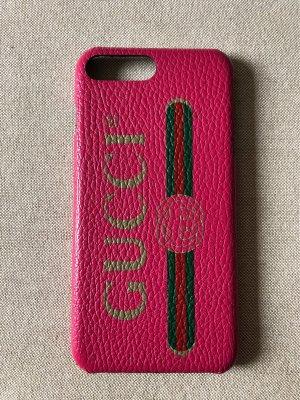 Gucci Étui pour téléphone portable rose