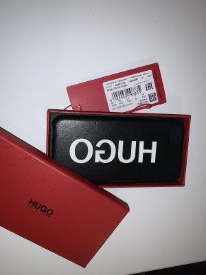 HUGO Hugo Boss Mobile Phone Case black-white