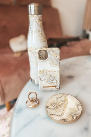 Ideal of Sweden Portachiavi oro-crema