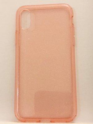 Hoesje voor mobiele telefoons stoffig roze-roségoud