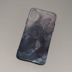 iPhone X/ XS Handyhülle mit Galaxymuster