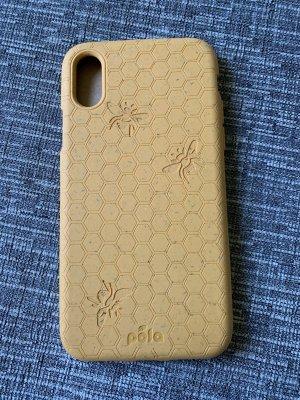 Pela Étui pour téléphone portable orange doré