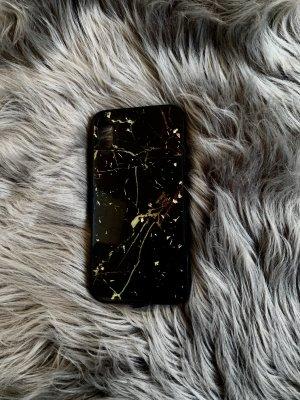 Hoesje voor mobiele telefoons zwart-goud